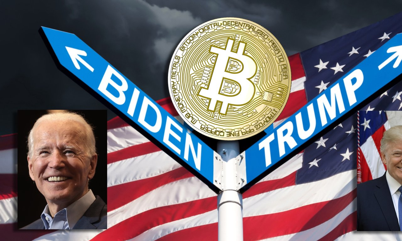 Så tycker Donald Trump och Joe Biden om bitcoin och andra kryptovalutor