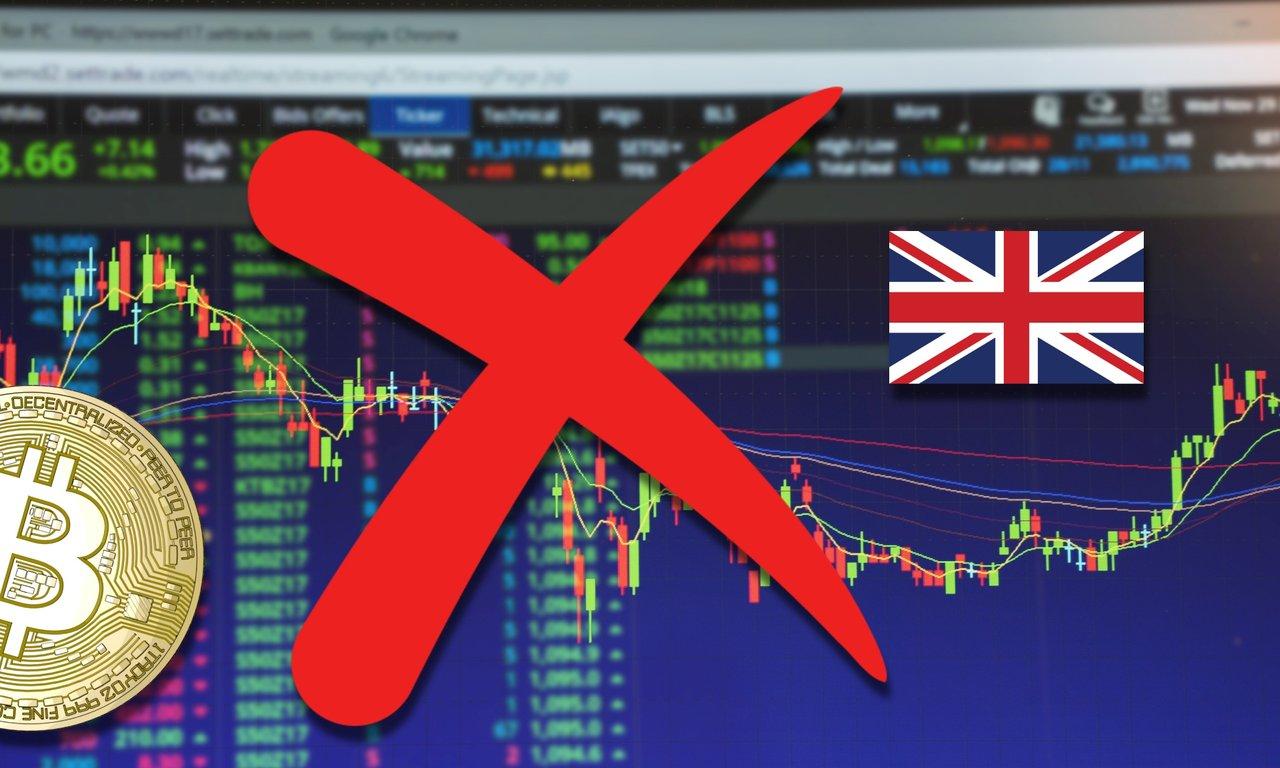 Storbritannien förbjuder all försäljning av kryptoderivat
