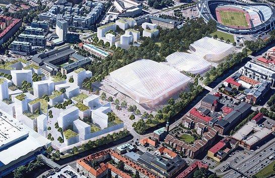 Göteborg storinvesterar i nya arenor – Scandinavium rivs