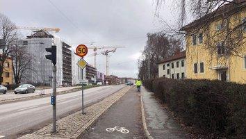 Gator stängs i Munkebäck