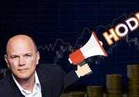 Kryptomiljardären Mike Novogratz: Den här gången säljer jag inte bitcoin vid 14 000 dollar