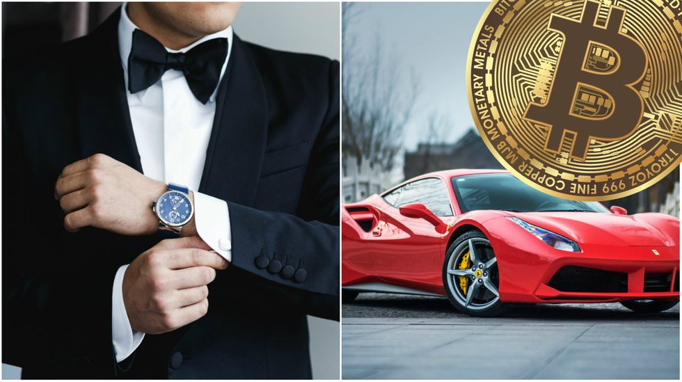 New service Crypto Concinnity lets bitcoin millionaires pay for luxury products with crypto.