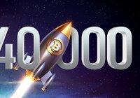 Bitcoinpriset når ännu en milstolpe – rusar över 40 000 dollar