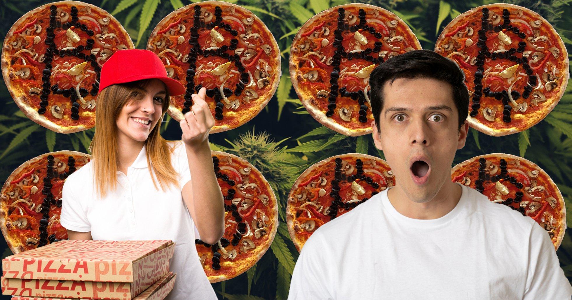 Stenad bitcoininvesterare råkar dricksa 10 000 kronor till förvånat pizzabud