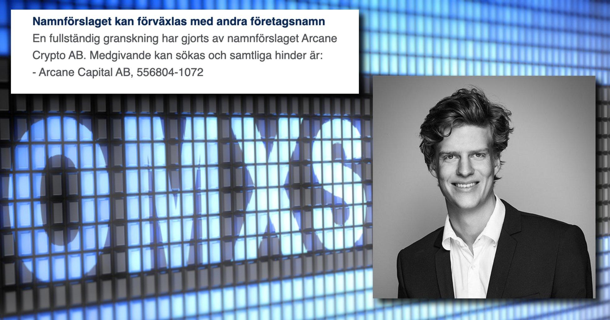 Namnkrocken löst – Arcane Crypto helt klara för Stockholmsbörsen