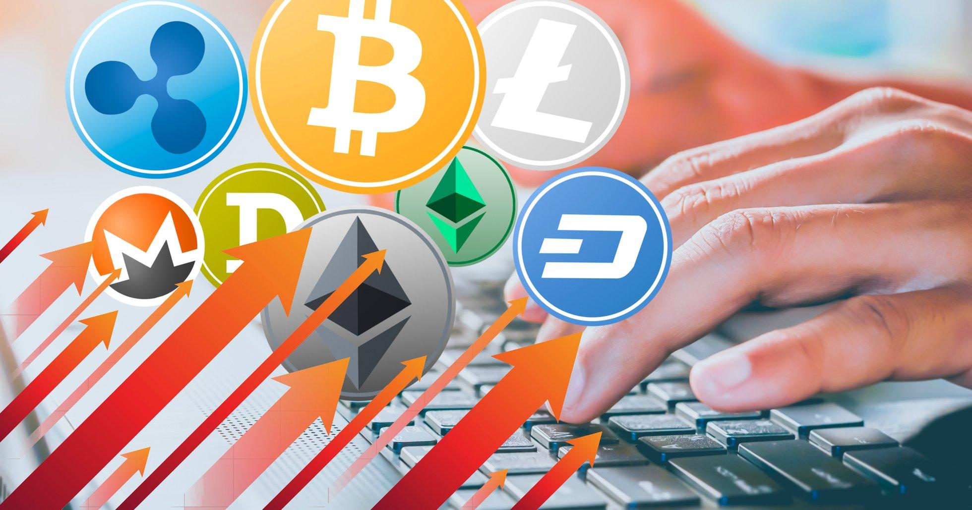 Breda uppgångar på altcoinmarknaderna – men bitcoinpriset ligger still.