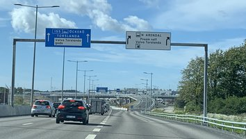 Sörredsmotet helt öppet för trafik