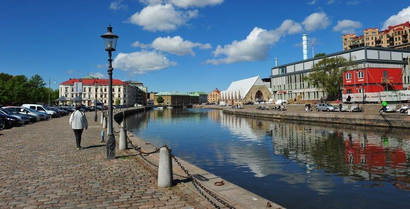 Fiskekyrka i Göteborg.