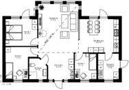 Se planritning för Villa Noraström