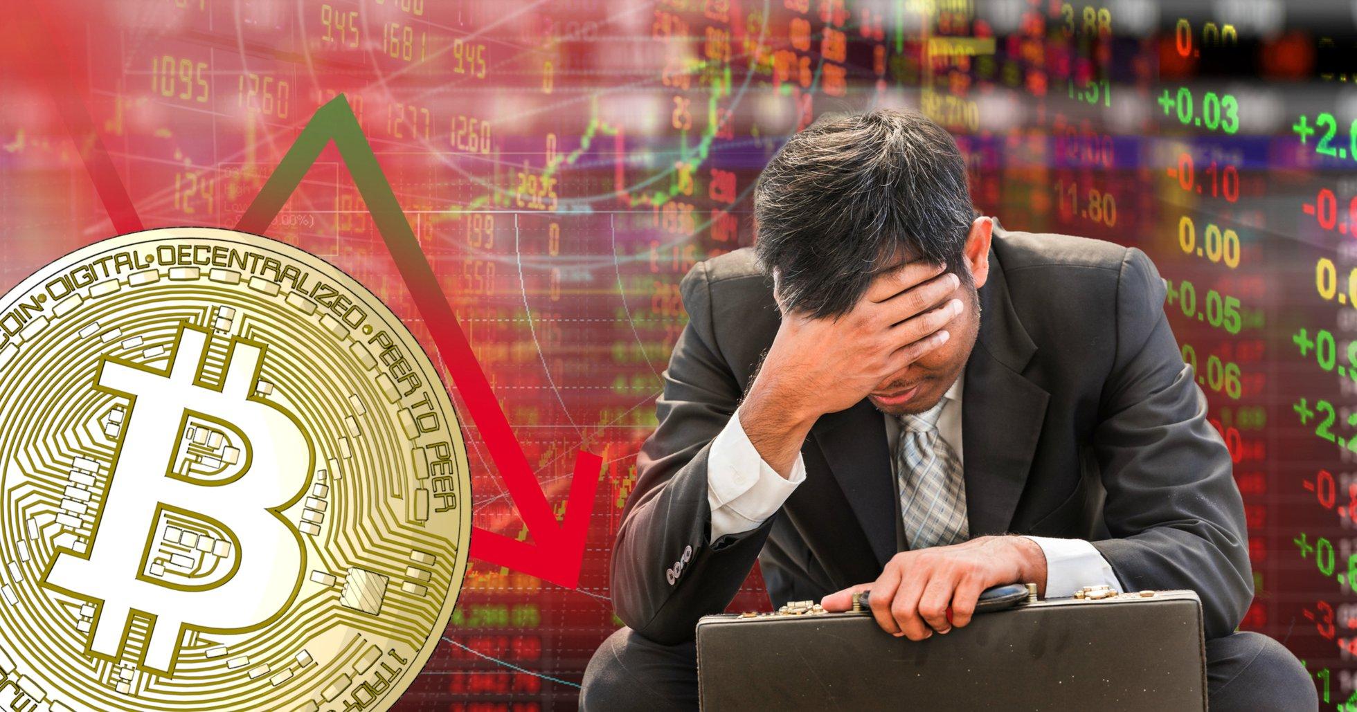 Kryptomarknaderna visar röda siffror – bitcoin är ner 8 procent sedan i går.