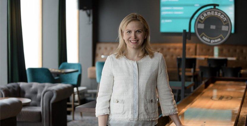 Linda Eriksson, kommersiell chef på O'Learys.