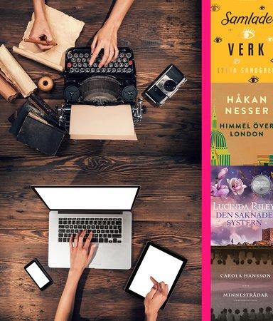 8 böcker som utspelar sig på flera tidsplan