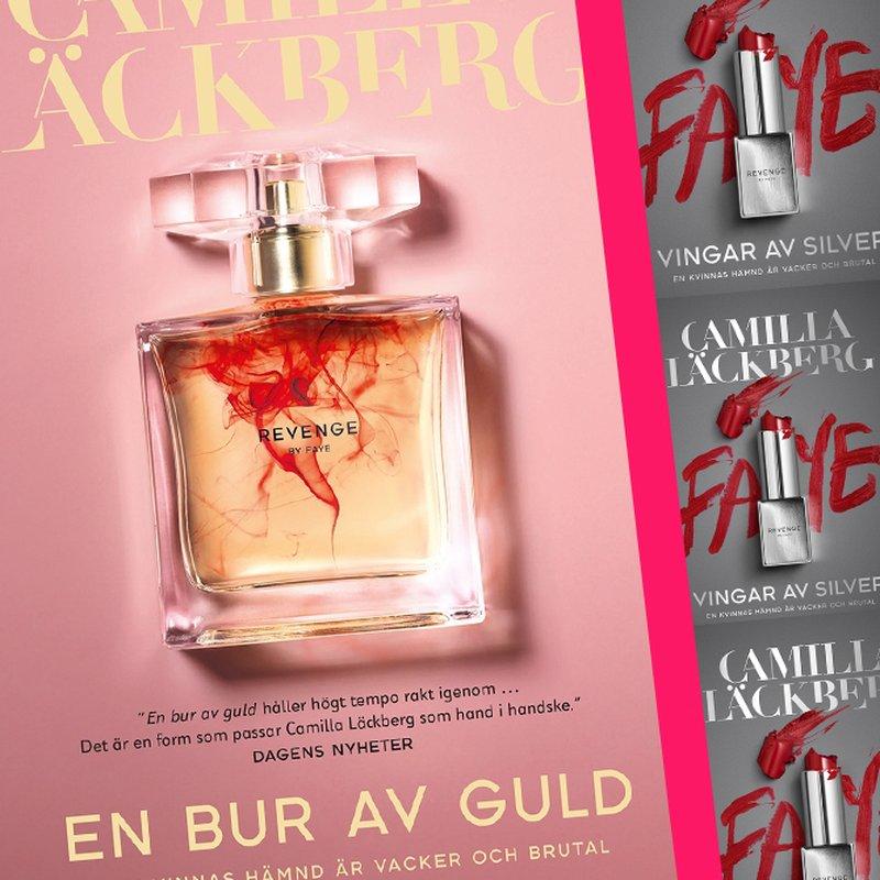 """Läs sexscenen ur Camilla Läckbergs """"En bur av guld"""""""