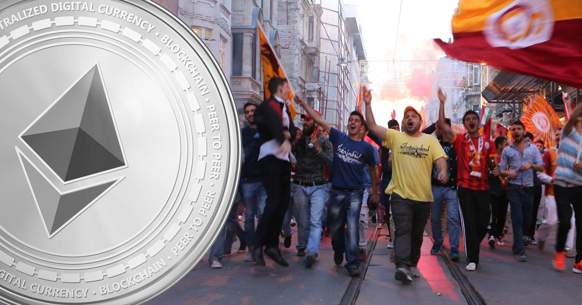 Fotbollslaget Galatasaray ger sig in i kryptovärlden – lanserar egen fantoken.