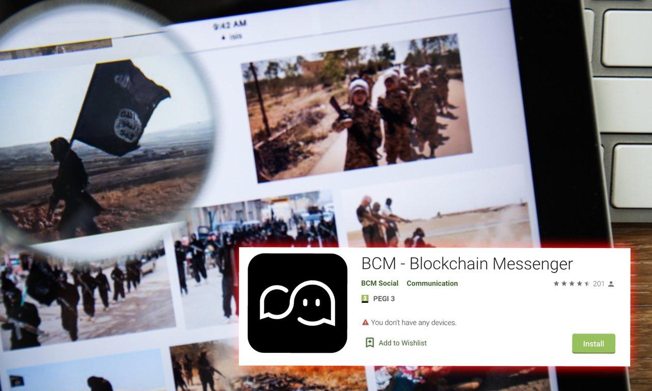 Islamiska staten testar blockkedjeapp för sina interna kommunikationer