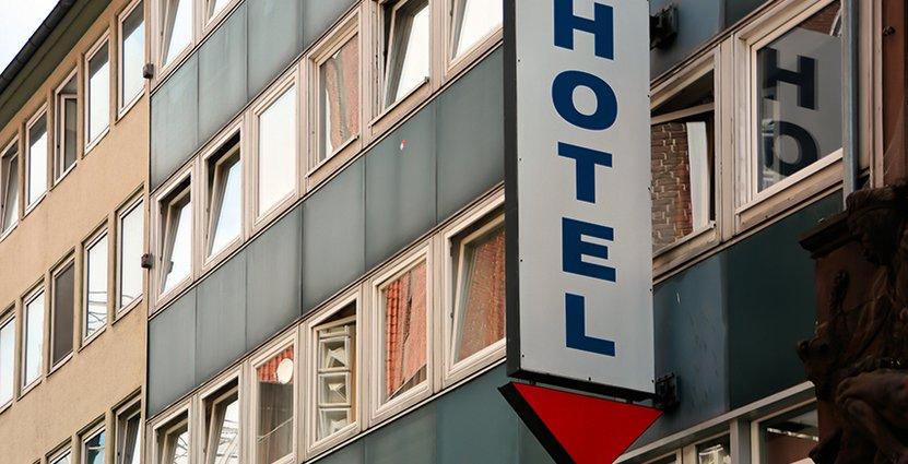 Hotellens intäkter minskar igen på de flesta orter. Foto: Colorbox
