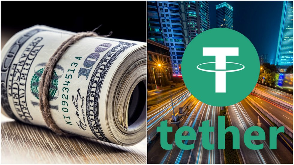 daily crypto tether report allegedly proves dollar backing and markets on the rise.