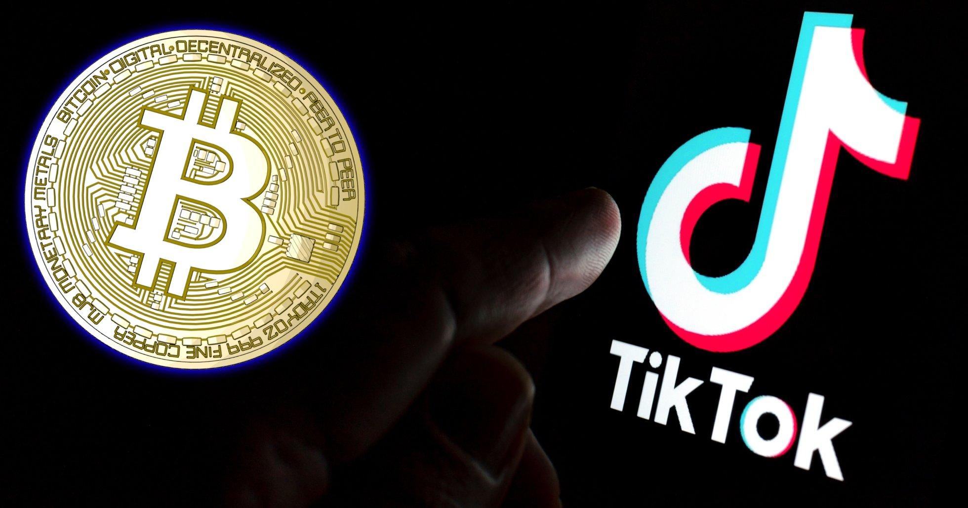 Tiktok har fått sin första virala bitcoinvideo – nu satsar ägarna på blockkedjeteknik