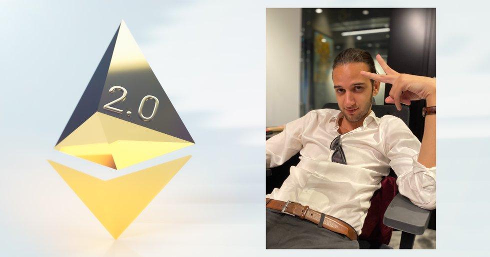 Kryptoprofilen Eric Wall om ethereum 2.0.