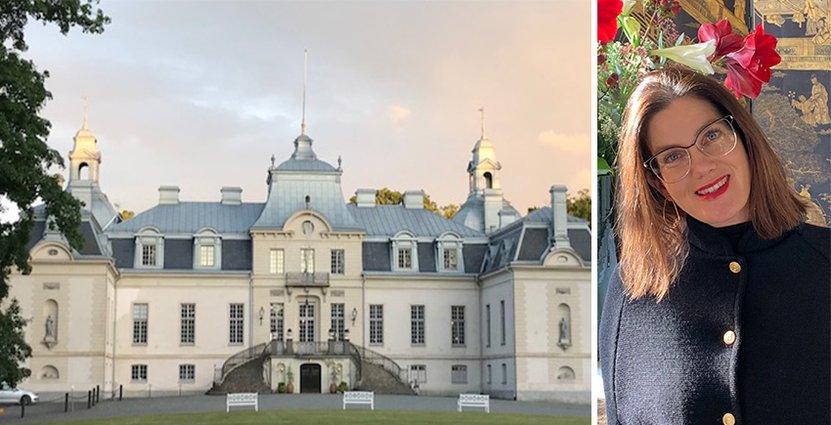 Jane Hviid, som driver Kronovalls slott valde att stänga en period under pandemin. Nu kan de äntligen planera framåt.  FOTO: Kim Hviid