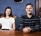Kristin Eickhoff och Jacob Thulesius studerar juristprogrammet på Lunds universitet.