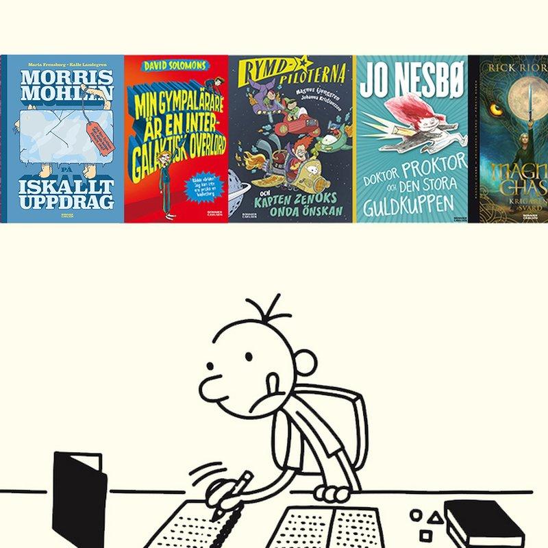 6 hysteriska böcker för barn som älskar