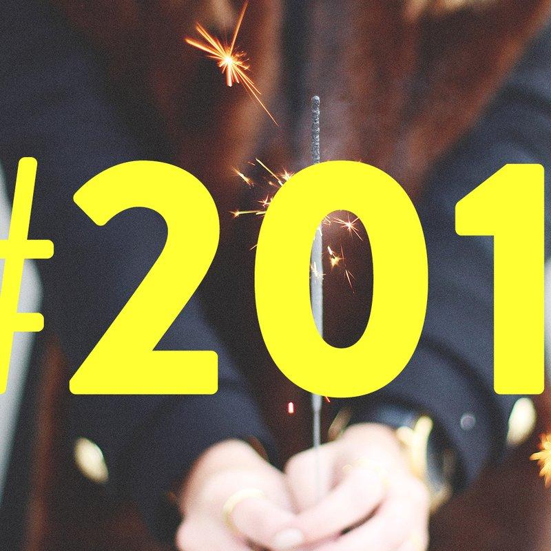 Året i hashtaggar – och tillhörande boktips