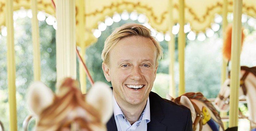 Hållbarhet är en av de frågor Andreas Andersen vill jobba med <br /> som ny ordförande för IAAPA.  Foto: Liseberg