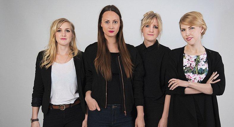 Linda Lindström, Ida Lemoine, Kajsa Lindström och Marie Björnstierna vill bryta invanda beteenden och mönster.