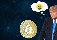 Donald Trump är inte ett fan av bitcoin: En låtsasvaluta byggd på tomma intet