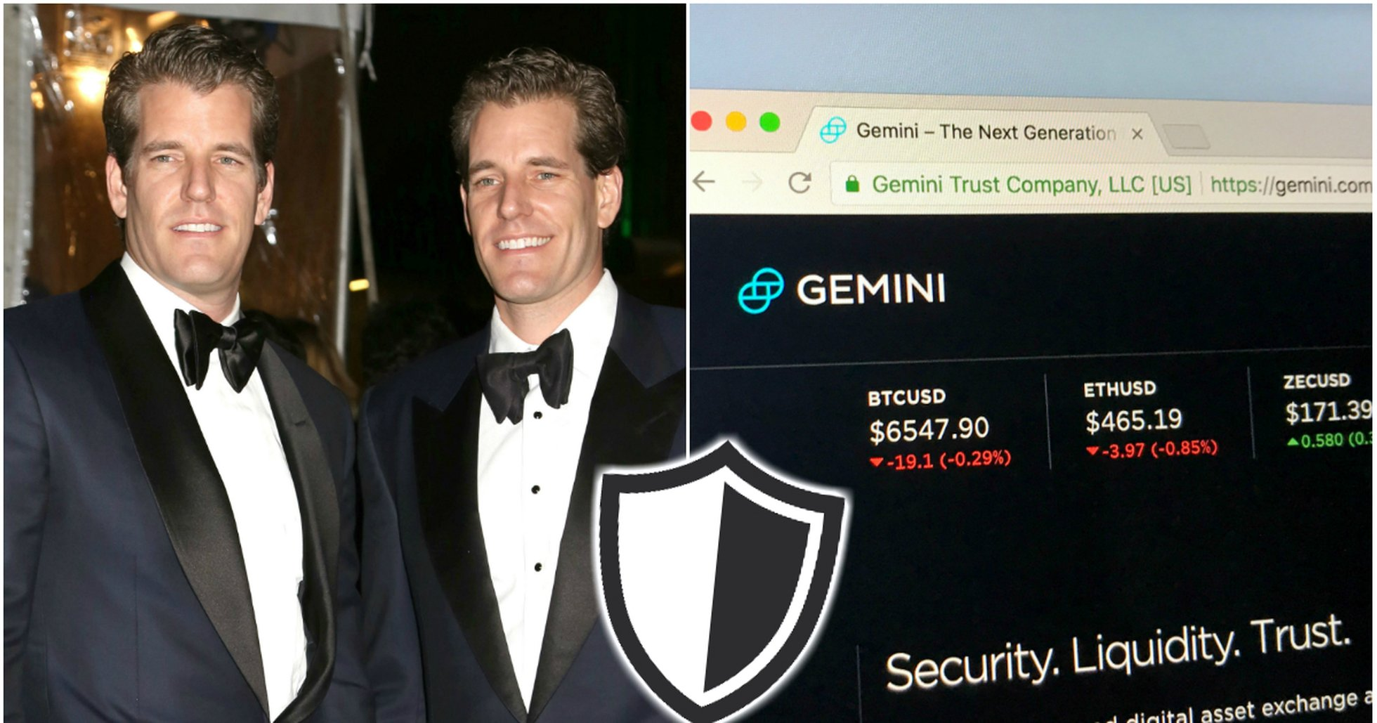 Winklevoss twins' crypto exchange offers insurance to its customers.