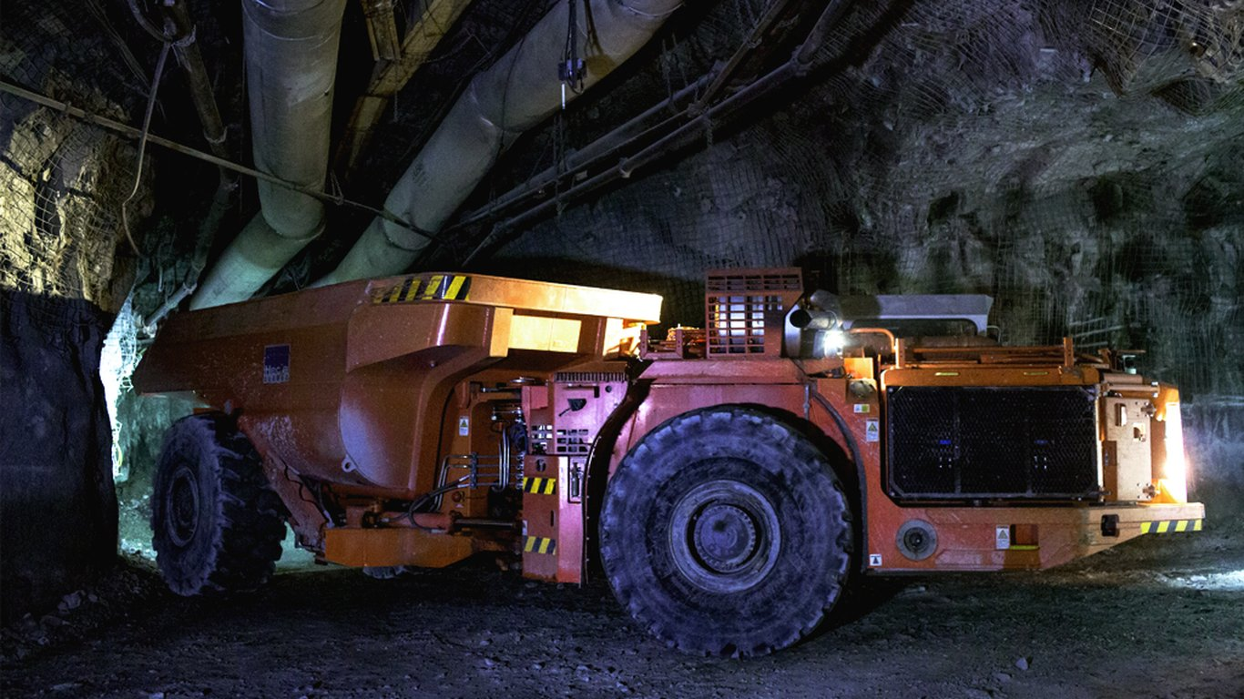 <p>Even when running at reduced capacity, Hecla's automated Sandvik TH540 has improved productivity by 20 percent.</p>