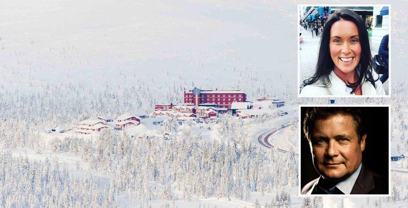 Camila Sundqvist och Thommy Backner är positiva inför årets fjällsäsong.  Foto: Pressbilder