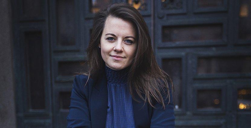 Caroline Strindmar, hållbarhetsstrateg på Visita. Foto: Carla Lokmakka