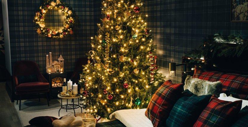 "Med julrummet ""Rum 24"" hakar Haymarket by Scandic på trenden med temarum. Foto: Pressbild"