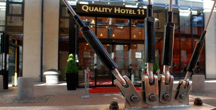 Att Strawberry Properties bygger mycket nytt är ett av skälen till att man överlåter Quality Hotel 11. Foto: Quality Hotel 11