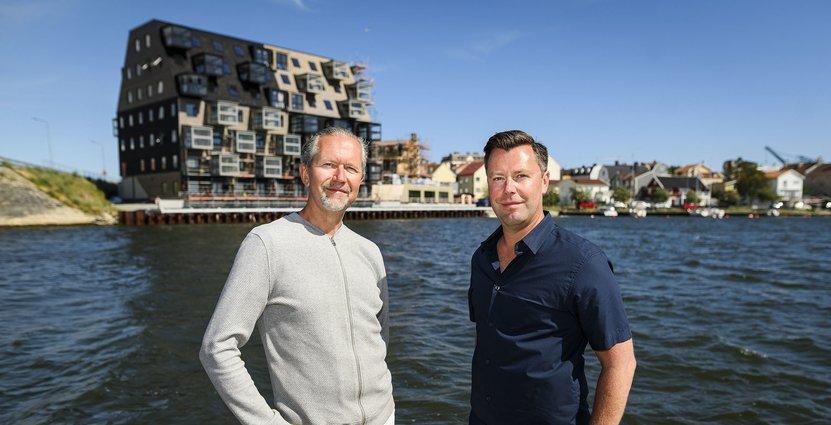 Pär Hjalmarsson och Robert Carlsson, vars kunskap<br />  avgjorde Kais inriktning.  Andreas Blomlöv/Sydöstran