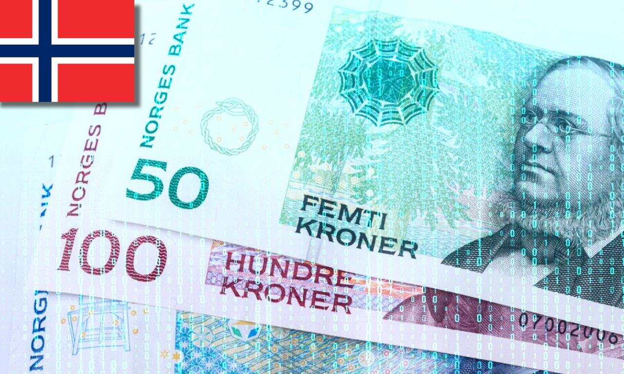 Nu börjar Norges centralbank testa sin e-krona: