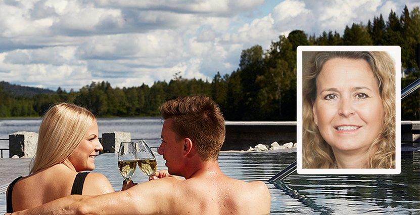 Loka Brunn har bland annat utökat sitt poolområde med fyra pooler.  Foto: Loka Brunn