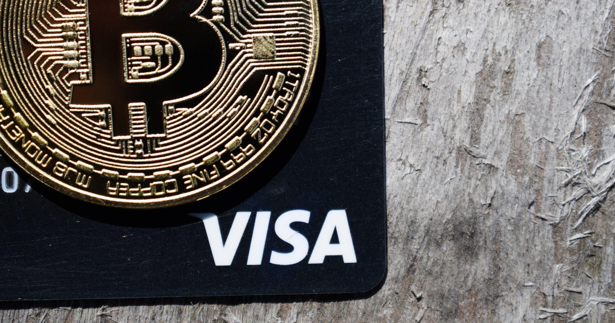 Visa öppnar för att tillåta betalningar i kryptovaluta.