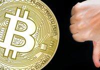 Bitcoinpriset faller under 9 000 dollar för första gången på två veckor