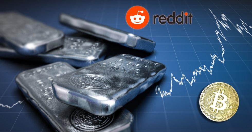 Reddit pumpar silverpriset – därför kan det vara bra för bitcoin