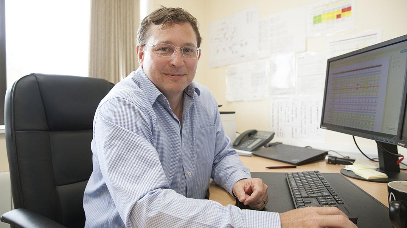 <p>Tom Bailey, kierownik ds.<br /> operacji górniczych w kopalni Tara</p>