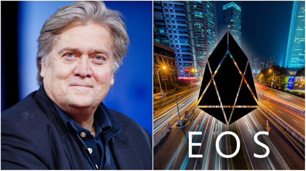 daily crypto eos blockchain up and running and prices going up.