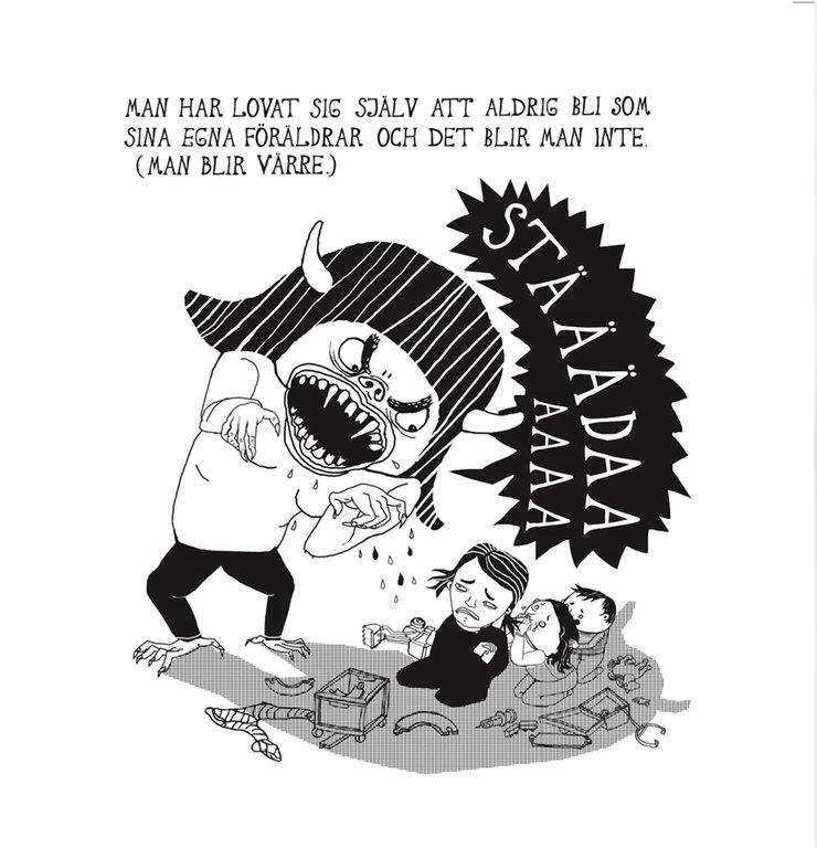 Bild ur <i>Family living -  den ostädade sanningen </i> av Lotta Sjöberg