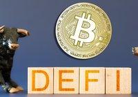 Defi-segmentets fall korrelerar med bitcoins succéhöst