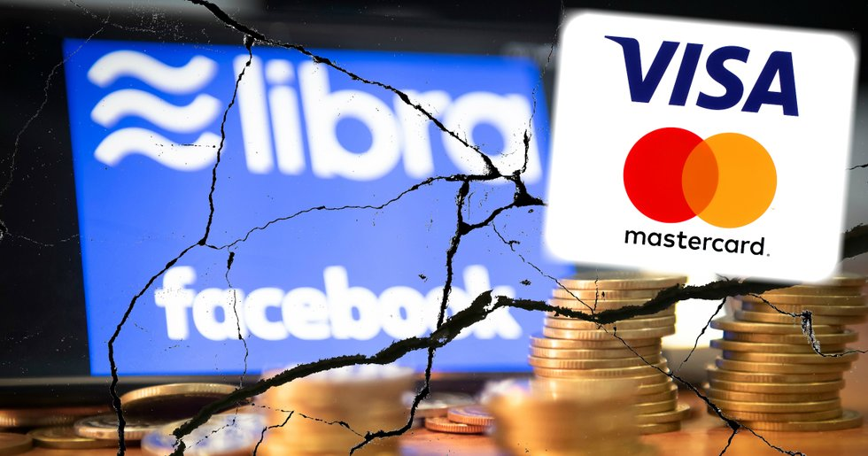New setbacks for Facebook's libra – now Visa and Mastercard are also leaving the project.