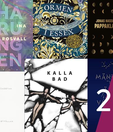 De allra vackraste bokomslagen från 2018