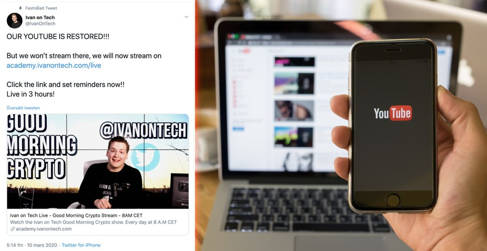 After another deleted video – Ivan on Tech quits streaming on Youtube