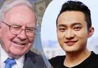 Efter förseningarna – nu har kryptoprofilen Justin Sun äntligen ätit sin miljonlunch med Warren Buffett